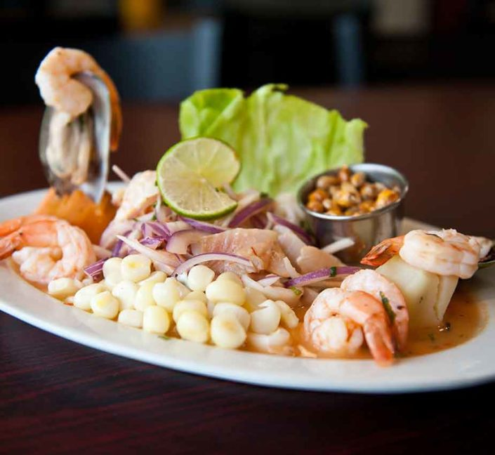 Shrimp and Fish Ceviche
